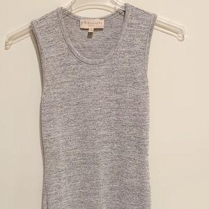 Philosophy Grey Maxi Dress